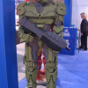 Life-size Mega Bloks Master Chief